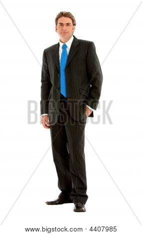 Full body Businessman