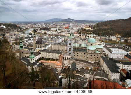Historical Center Of Salzburg, Austria