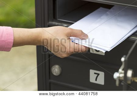 Putting Up The Mail