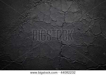 Dark Cracked Wrinkled Texture