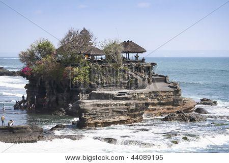 Tanah Lot mar templo Bali