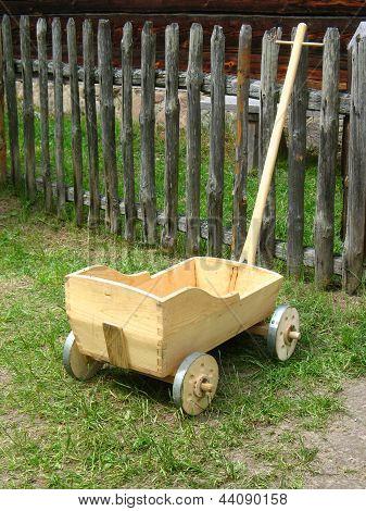 Old  Hand Made Wagon