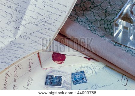 Old Vintage Letter