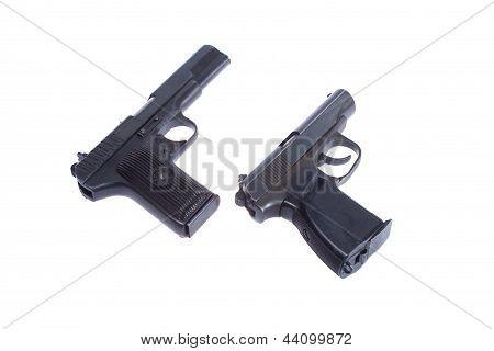 Soviet Handgun Tt (tula, Tokarev) And Pmm (makarov)