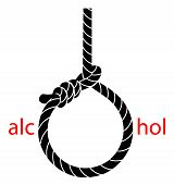 stock photo of hangmans noose  - Hangman - JPG