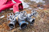 picture of firehose  - Fire Hydrant three - JPG
