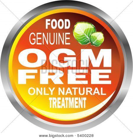 Ogm Free Food Emblem