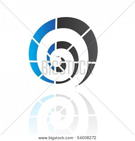 Spiral Shape Abstract Icon