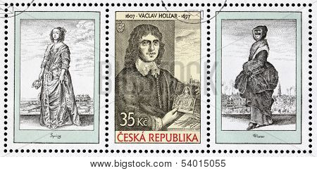 Wenceslaus Hollar Stamps