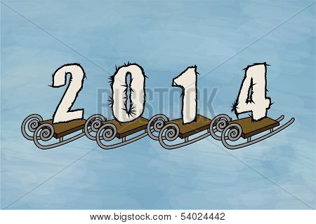 Winter 2014, Sled
