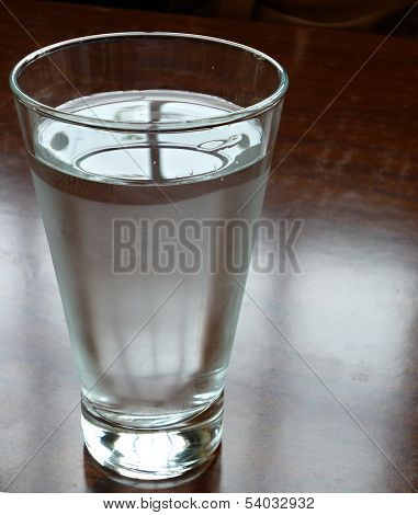 a glassof water