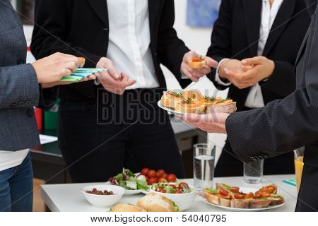 Managers Meeting On Breakfast