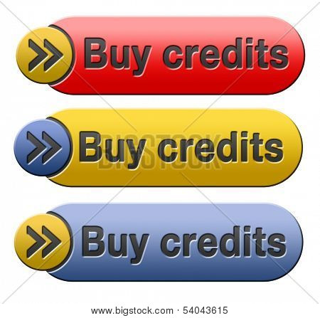 Buy credits here and now