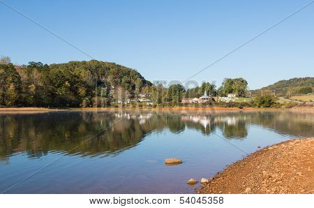Country Lake Scene
