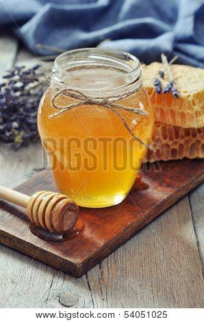 Honey In Jar