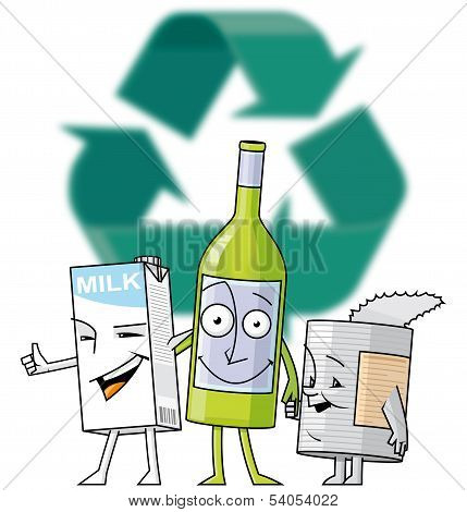 Recycle Characters