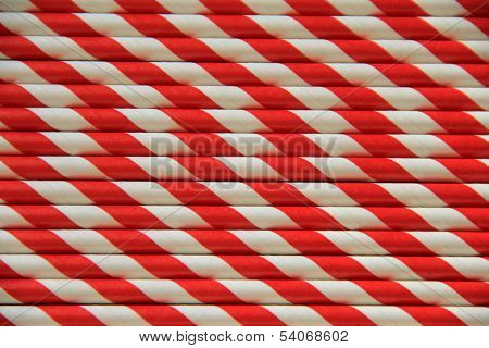 Red and white patterned background