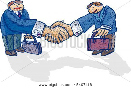 Big handshake