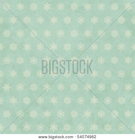 Christmas Winter Retro Seamless Pattern Background
