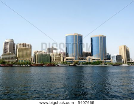 Skyline de Dubai Creek