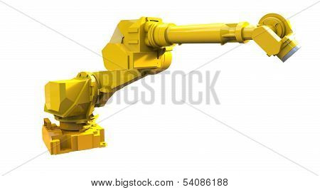 Yellow Robot Arm