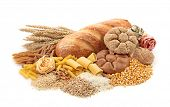 stock photo of maize  - Foods high in carbohydrate - JPG