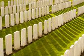 image of tyne  - Tyne Cot Cemetery in Ypres world war belgium flanders - JPG