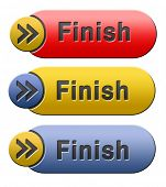 finish the end of the competition an exit out of problems button or icon