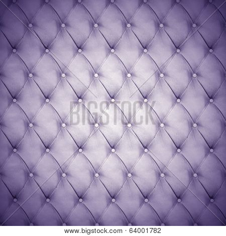 Abstract background texture of an old natural luxury, modern style leather with rhombs Classic blue, violet and purple gray grungy skin of retro wall, door, sofa or studio interior with metal buttons