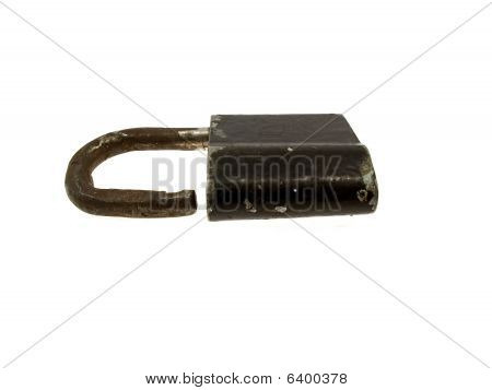 The Old Black Hinged Lock