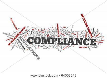 Word Cloud Compliance