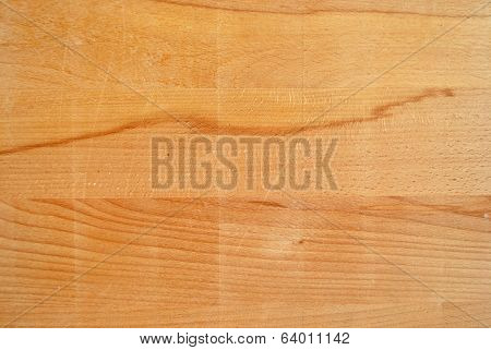 Worn Wood Of A Chopping Board