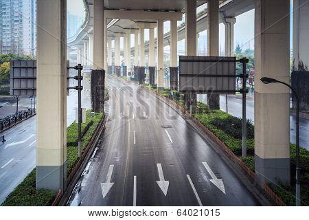 Under The City Interchange