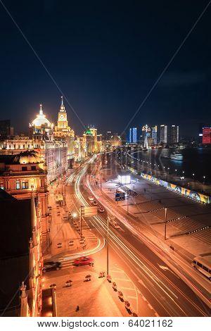 Shanghai Bund Night View