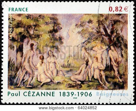 Cezanne Stamp