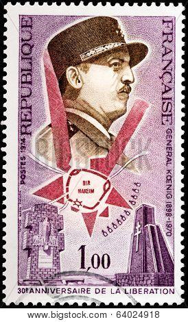 General Koenig Stamp