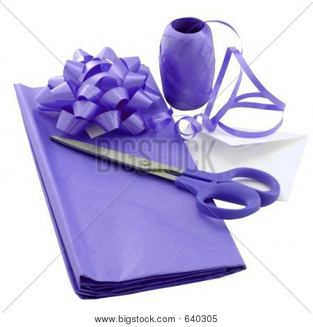 Purple Gift Wrap