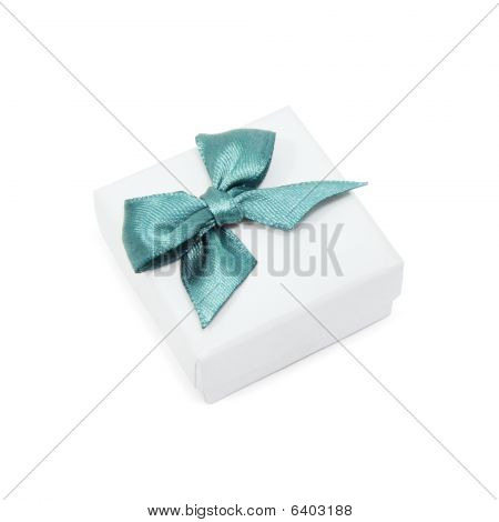 Small Gift Box On White