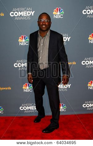 NEW YORK-APR 26: Comedian Hannibal Buress attends the American Comedy Awards at the Hammerstein Ballroom on April 26, 2014 in New York City.