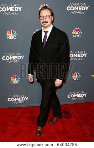 NEW YORK-APR 26: Comedian John Hodgman attends the American Comedy Awards at the Hammerstein Ballroom on April 26, 2014 in New York City.