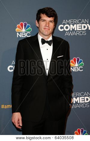 NEW YORK-APR 26: Actor Tim Simons attends the American Comedy Awards at the Hammerstein Ballroom on April 26, 2014 in New York City.