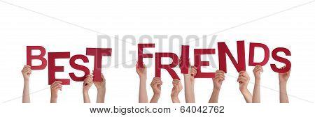 Hands Holding Best Friends