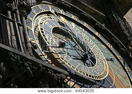 Astronomy clock