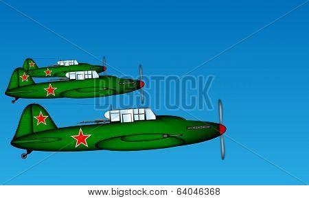Link Tactical Plane Ilyushin Il-2
