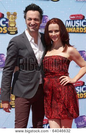 LOS ANGELES - APR 26:  Stephen Full, Annie Wersching at the 2014 Radio Disney Music Awards at Nokia Theater on April 26, 2014 in Los Angeles, CA