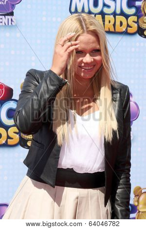 LOS ANGELES - APR 26:  Alli Simpson at the 2014 Radio Disney Music Awards at Nokia Theater on April 26, 2014 in Los Angeles, CA