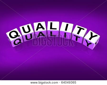 Quality Blocks Mean Qualities Traits And Aspects