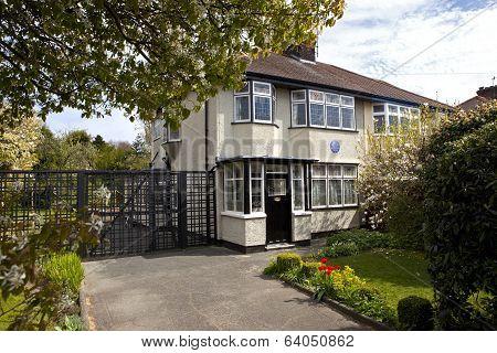 Childhood Home Of John Lennon In Liverpool