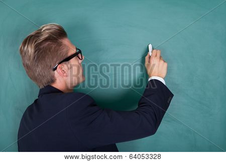 Young Male Professor Teaching
