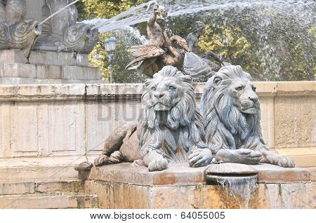 Fountain in Aix an Provence